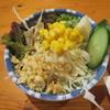 広島お好み焼 ひな - 料理写真:お通しのサラダ