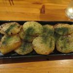 広島お好み焼 ひな - 長芋バター