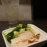 純平 - 浅漬け、鶏スモーク