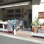 ルーズ カフェ  入口