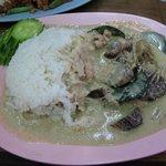 タイ料理ファンディー - グリーンカレー