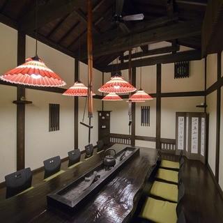 落着く個室空間でゆったりとお食事を楽しむ!