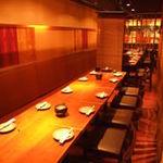 海鮮居酒屋 えん屋 - テーブル席は最大30名まで利用可能!