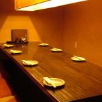 海鮮居酒屋 えん屋 - ゆったりとお食事をお楽しみいただけます。