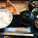 Kaito - 鮭かま焼き定食(950円)