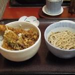 22035977 - 天丼セット (2013.10)
