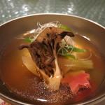 日本料理 オカモト - 蓮根餅のお椀