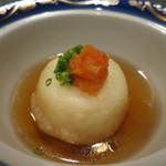 日本料理 オカモト - 百合根饅頭の揚げだし