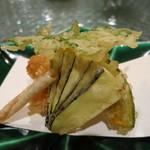 日本料理 オカモト - 甘鯛の玄米揚げ