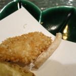 日本料理 オカモト - 甘鯛の玄米揚げ本体