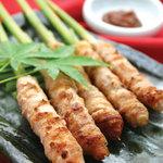 とうあん - 谷中生姜の豚肉巻き