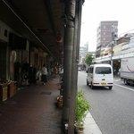 ケララの風Ⅰ - JR大森駅を降りてこの商店街をテクテクと歩いていきます。
