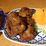 22043020 - タイ風鶏もも肉の唐揚げ(ほのかなグリーンカレー味)