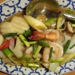 22043072 - シーフードと野菜のオイスターソース炒め