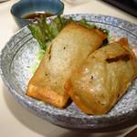 酒処たなかや - メガ餃子(2本)300円