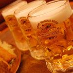 デンズカフェ - 生ビール