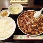 中国家庭料理 龍盛 - 麻婆豆腐定食