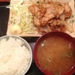 串かつ かつ~ん - 豚のしょうが焼定食