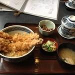 魚ものがたり 四季鮮 - 天丼