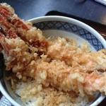 魚ものがたり 四季鮮 - 天丼アップ