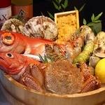 海 KAI - 料理写真:新鮮な魚介類!