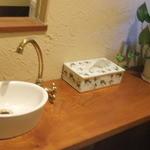 カピアンコーヒー - お手洗いのコーナーも素敵です♪