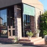 カピアンコーヒー - 店内入口♪テラスは向こう側・お庭の方になります。