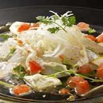 Wan - お茶漬けのほか、カルパッチョやサラダも各種ご用意しています。