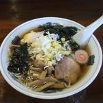 滋味 - 五目ラーメン(醤油)¥700