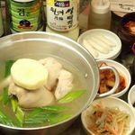 韓のかおり家 - ダッカンマリ鍋 ☆自家製のスープは濃厚で女性に大人気です。