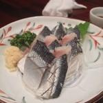 22059212 - 秋刀魚の酢〆(2013/10)