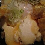 カメリア - 幻の大豆、大浜大豆を使った豆腐丼