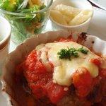 AGATHA - トマトソースのハンバーグ