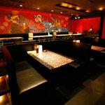 Dining Bar SAMURAIKA - 見渡せますねぇ~