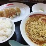 拉麺本家夢屋 - ギョウザセット@871円