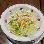 22061403 - コーンスープ&サラダセットのサラダ