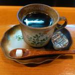 和風レストラン 田中すし - サービスのコーヒー