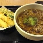 久兵衛屋 - 料理写真:天ぷら蕎麦
