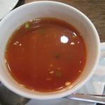 タージマハール - セットのトマトスープ