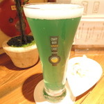 クラフトビアサーバーランド - 城端麦酒 グレートブルー(富山)グラス