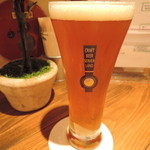 クラフトビアサーバーランド - プレストンエールIPA(栃木)グラス
