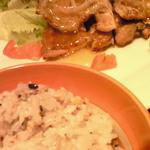 大戸屋 - 鶏の柚子こしょう 炭火焼き定食