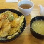 武蔵野天ぷら道場 - 天丼