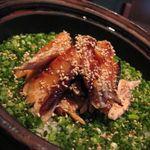 居間 - 人気の鮭ハラスご飯