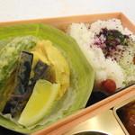 Suginoyayamaguchi - 2段目は天ぷらご飯