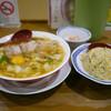 彩華ラーメン  - 料理写真:彩華ラーメン バラチャーシュ入り(小)¥880
