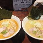 22073874 - 味噌 700円 と 塩 700円 【 2013年10月 】