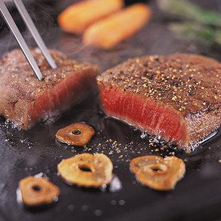 黒毛和牛をはじめミートイン特選極上のステーキ♪