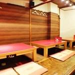 本場ソウルの味 味家 - 座敷3卓 14人~18人でご歓談頂けます。貸切も可能です。