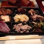 22075760 - 201310 ぶどう家 まかないの定食(1000円)9つのお料理
